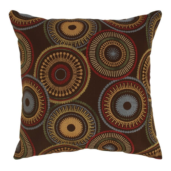 Riley 23-inch Chocolate Floor Pillow