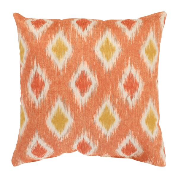 Rodrigo 16.5-inch Coral Throw Pillow