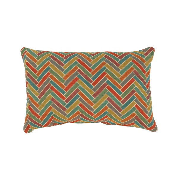 Vespa Rectangular Cabana Throw Pillow