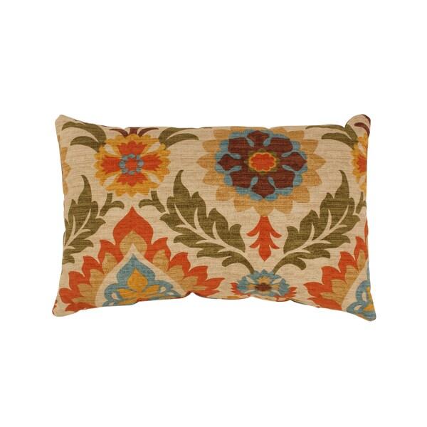 Santa Maria Rectangular Adobe Throw Pillow
