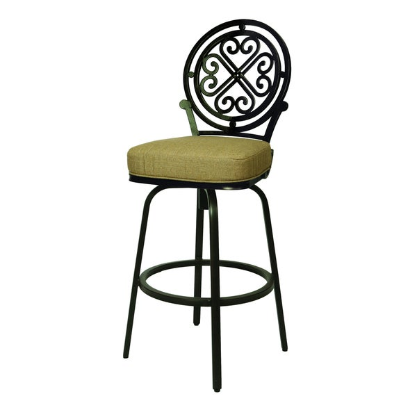 Shop Island Falls 30 Inch Outdoor Bar Stool Free Shipping Today
