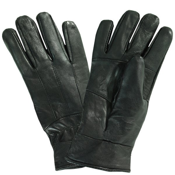 Bond Women's Insulated Black Leather Gloves
