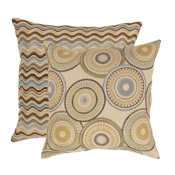 Riley & Wave 23-inch Floor Pillows (Set of 2)