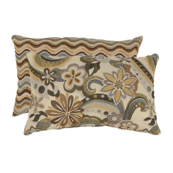 Floral Throw Pillows (Set of 2)