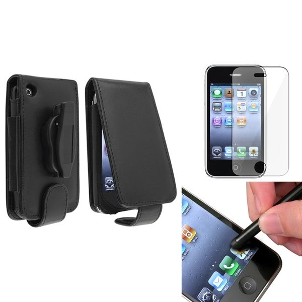 BasAcc Case/ Screen Protector/ Stylus for Apple® iPhone 3G/ 3GS