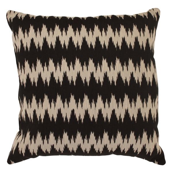 'Gopala' Black/ Grey 23-inch Floor Pillow
