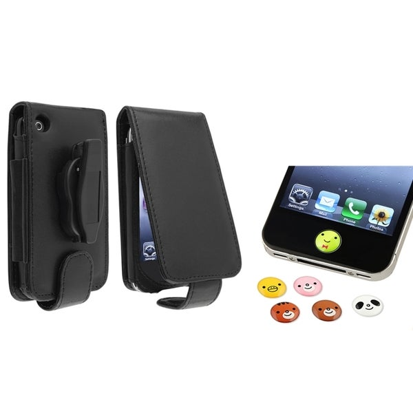BasAcc Case/ Animal Home Button Sticker for Apple® iPhone 3G/ 3GS