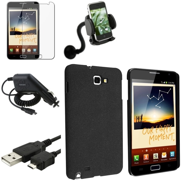BasAcc Case/ Screen Protector/ Mount for Samsung© Galaxy Note N7000