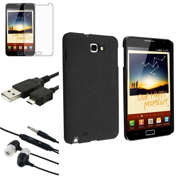 BasAcc Case/ Screen Protector/ Headset for Samsung Galaxy Note N7000