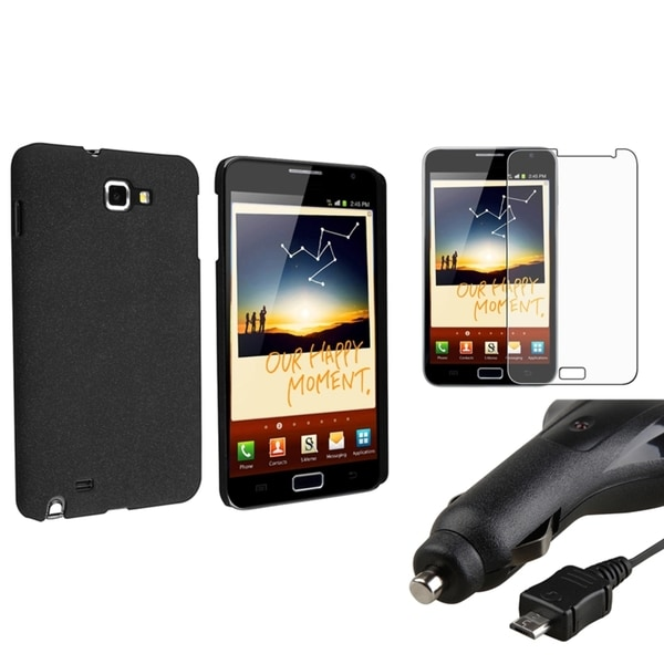 BasAcc Case/ Screen Protector/ Charger for Samsung© Galaxy Note N7000
