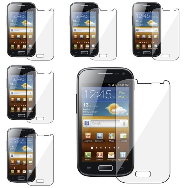 INSTEN Clear Screen Protectors for Samsung Galaxy Ace 2 (Pack of 6)