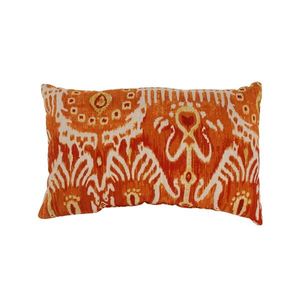 Cerva Pumpkin Rectangular Throw Pillow
