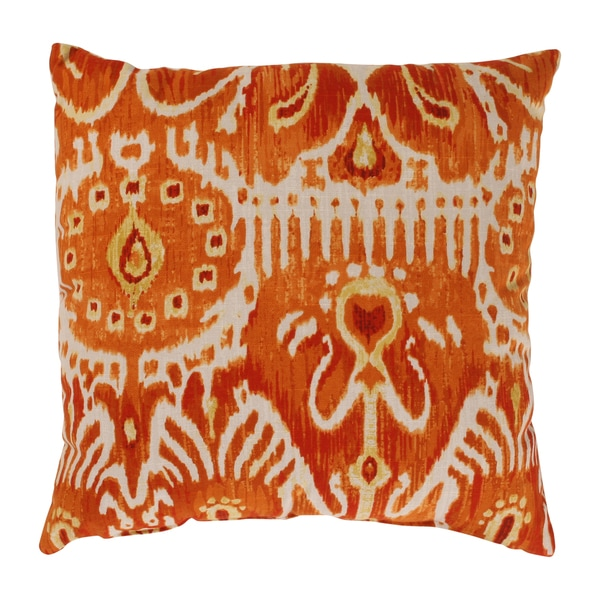 Cerva 16.5-inch Pumpkin Throw Pillow