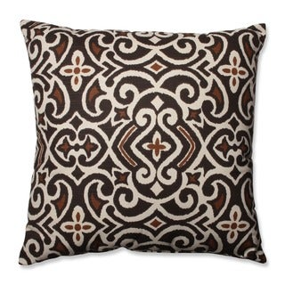 Damask 24.5-inch Throw Pillow