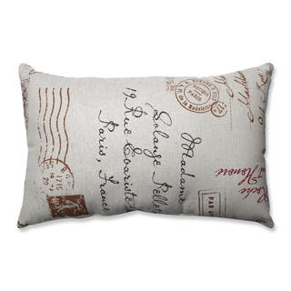 Pillow Perfect French Postale Rectangular Throw Pillow (Option: Linen)|https://ak1.ostkcdn.com/images/products/7213928/P14698157.jpg?impolicy=medium