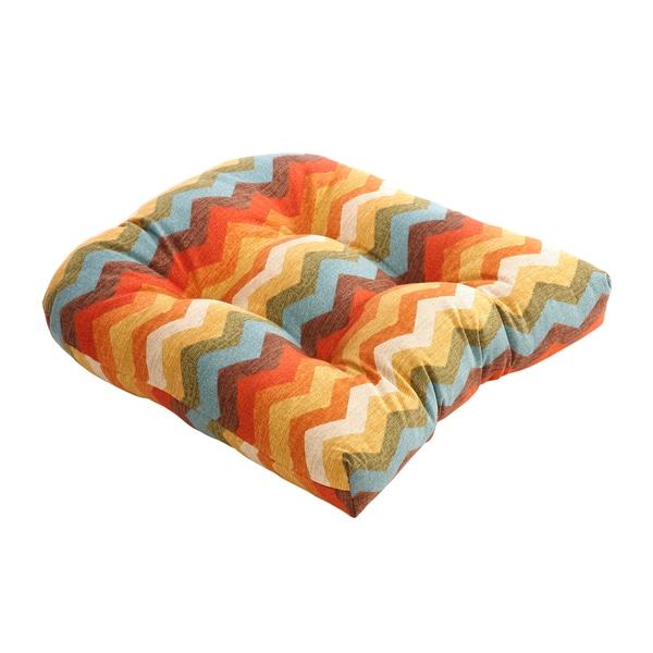 Pillow Perfect Panama Wave Adobe Chair Cushion