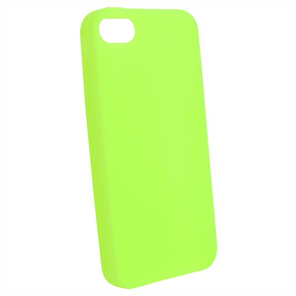 BasAcc Green Silicone Case for Apple iPhone 5