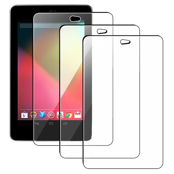 INSTEN Google Nexus 7 Reusable Screen Protector [3pcs-set]
