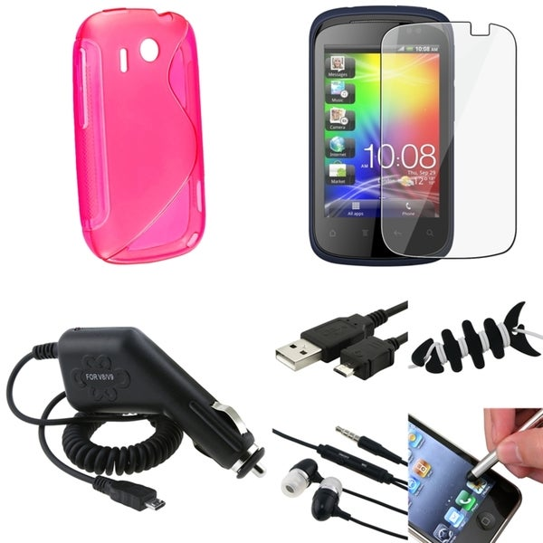 Stylus/ Case/ Cable/ Protector/ Wrap/ Headset for HTC Explorer