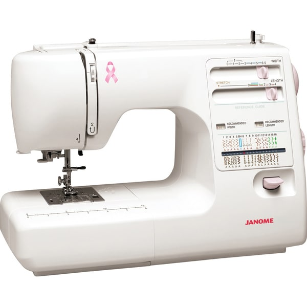 Janome MS5027PR Pink Ribbon Series Sewing Machine
