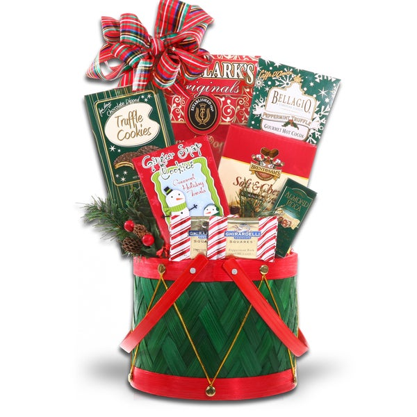 Alder Creek 'Little Drummer Boy' Gift Baskets