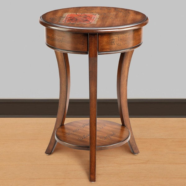 Artisan 'Postage Accent' Chair Side Table