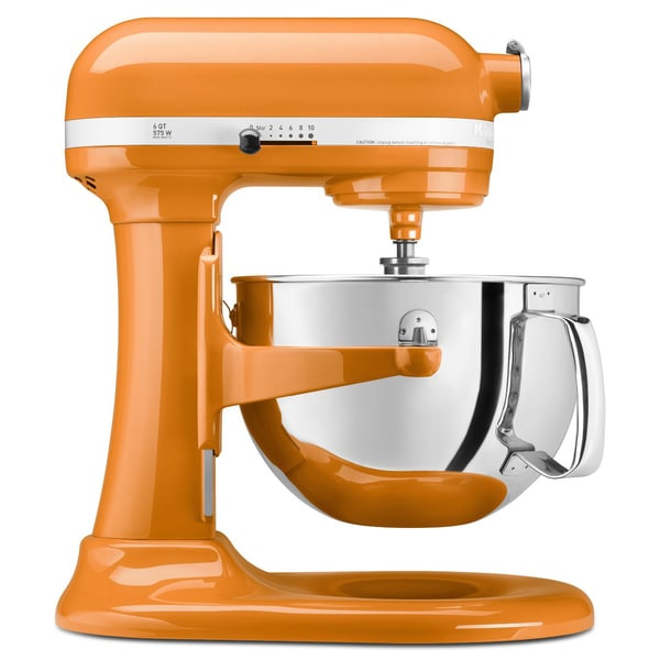 KitchenAid KP26M1XTG Tangerine 6-quart Bowl-Lift Stand Mixer