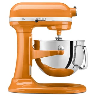 KitchenAid KP26M1XTG Tangerine 6-quart Bowl-Lift Stand Mixer with $50 Rebate