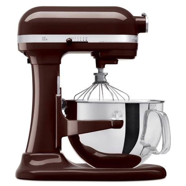 KitchenAid KP26M1XES Espresso 6-quart Pro 600 Bowl-Lift Stand Mixer