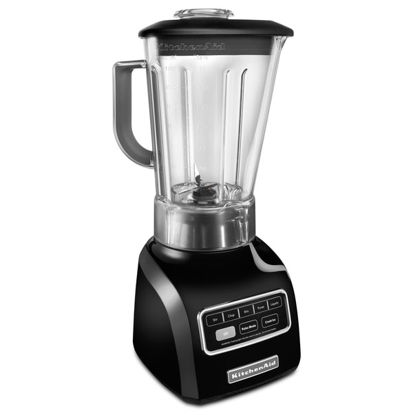 KitchenAid KSB650OB 5-speed High Performance Blender- Onyx Black