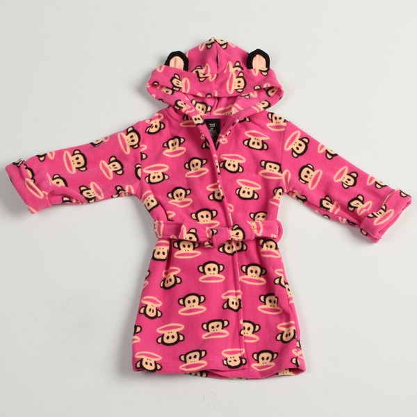 Small Paul by Paul Frank Toddler Girl's Monkey Face Robe