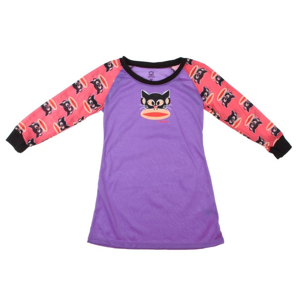 Small Paul by Paul Frank Girl's Masquerade Monkey Face Print Pajama