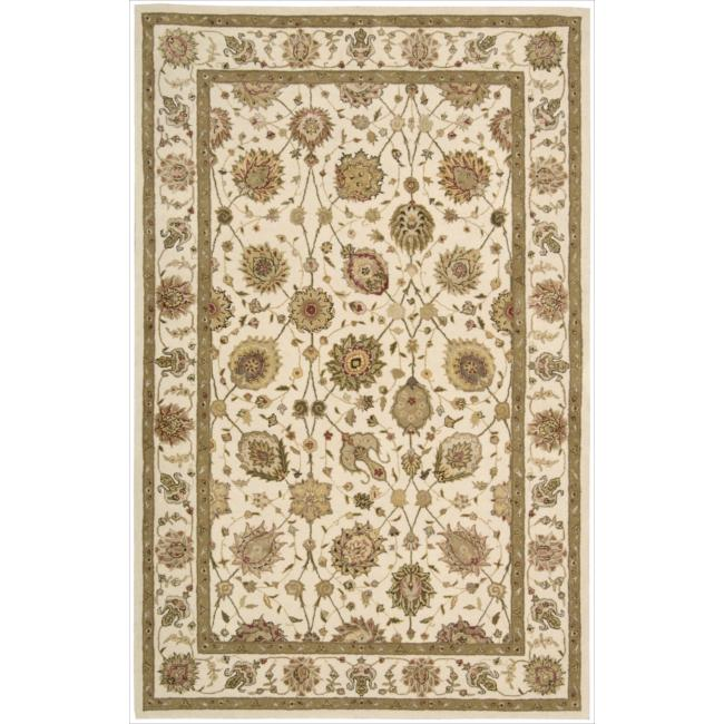 Nourison 3000 Hand-tufted Ivory Rug (2'6 x 4'2)