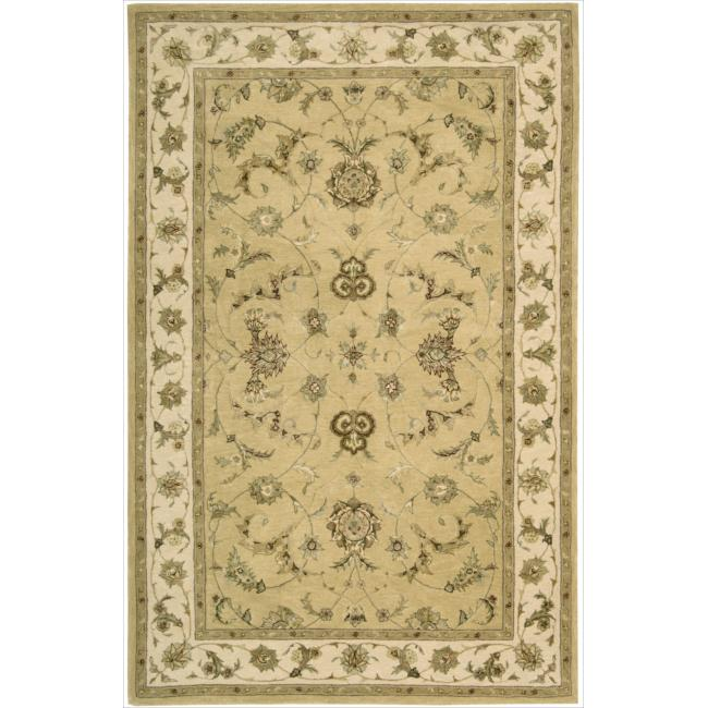 Nourison 3000 Hand-tufted Yellow Rug (2'6 x 4'2)