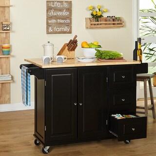 Simple Living Aspen 3-drawer Kitchen Cart