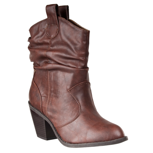 Riverberry Women's 'Latisha' Western-style Fashion Boots