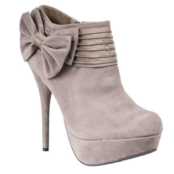 Riverberry Women's 'Covina' Platform Stiletto Booties