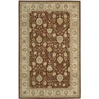 Nourison 3000 Hand-tufted Rust Wool Rug (2'6 x 4'2) - 2'6 x 4'2