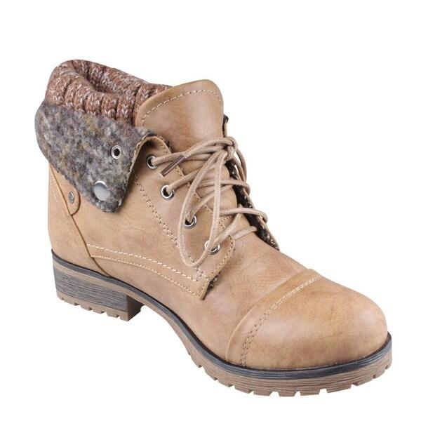 Refresh by Beston Women's 'Wynne-01' Boots