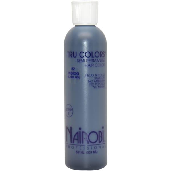 Nairobi Tru-Colors Semi-Permanent #2 Indigo 8-ounce Hair Color