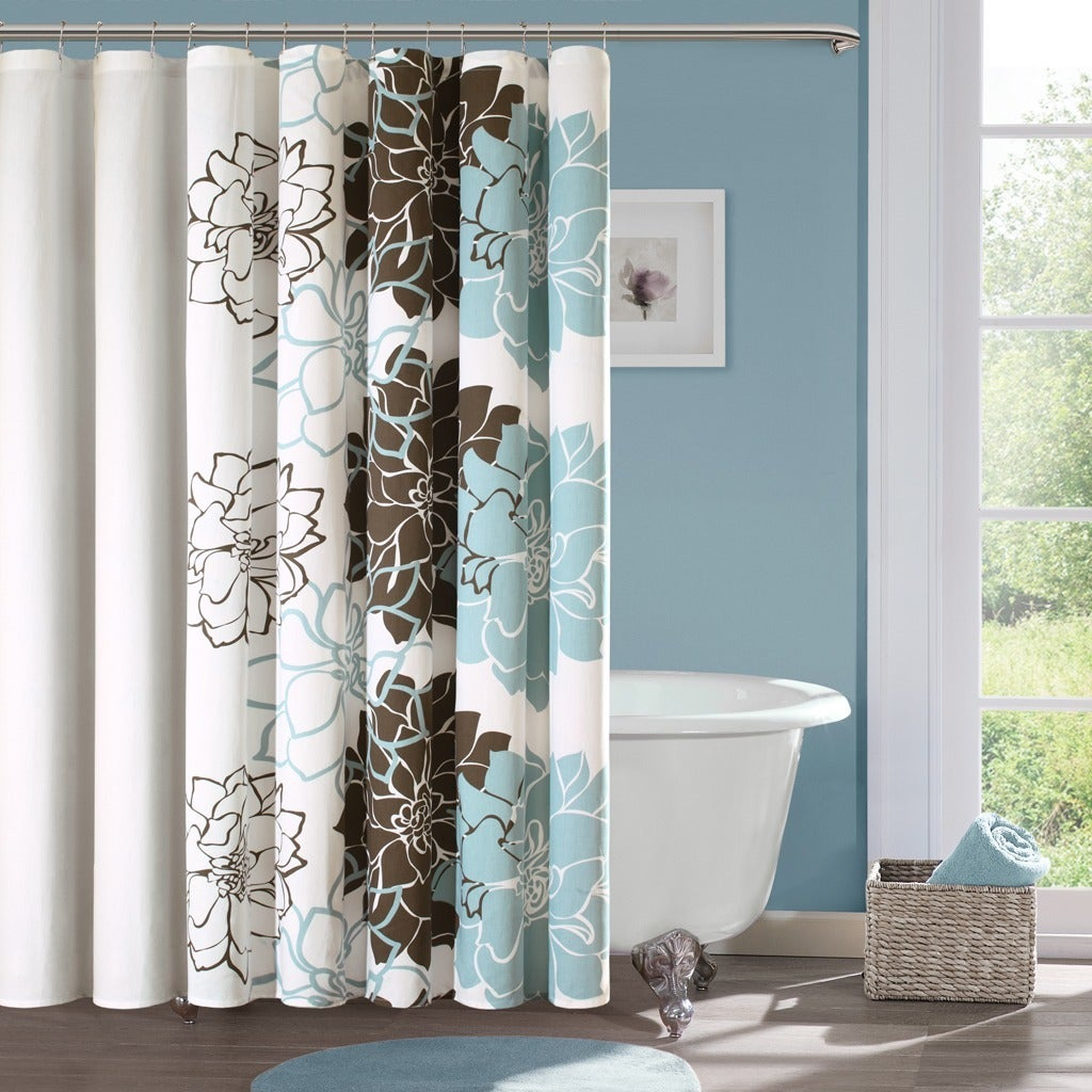 Shop For The Curated Nomad Escudero Cotton Floral Printed Shower Curtain Get Free Delivery On Everything At Overstock Your Online Shower Curtains Accessories Store Get 5 In Rewards With Club O 21180692