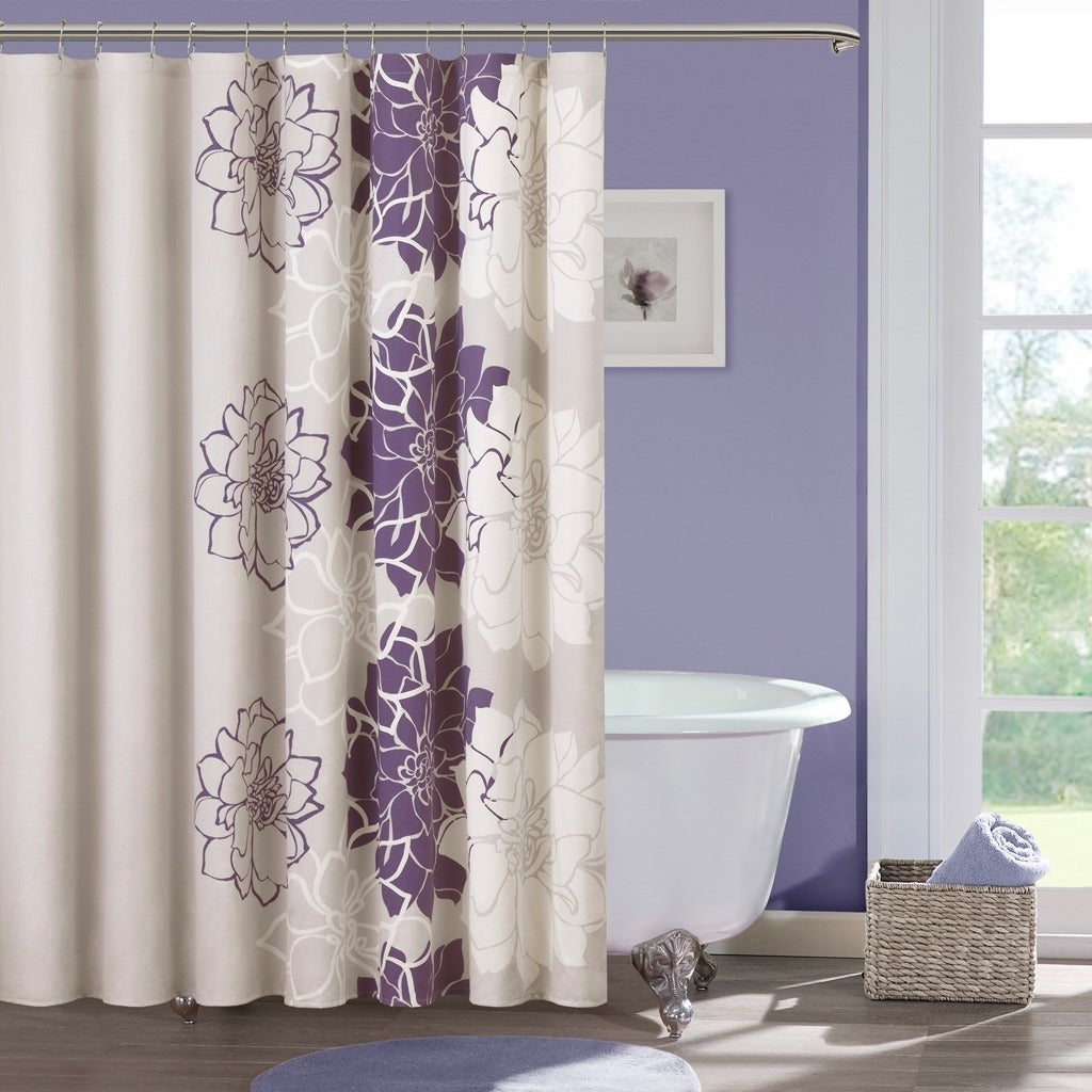 Buy Purple Shower Curtains Online at Overstock.com | Our Best Shower ...
