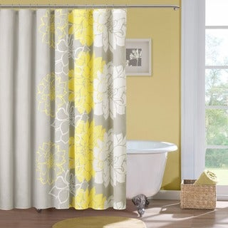 Clay Alder Home Niantic Cotton Sateen Floral Printed Shower Curtain (4 options available)