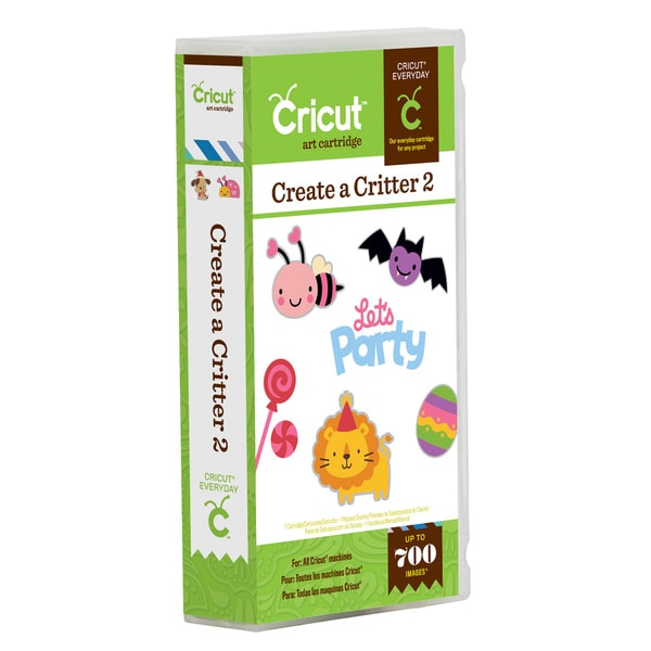 Cricut Everyday 'Create a Critter 2' Cartridge