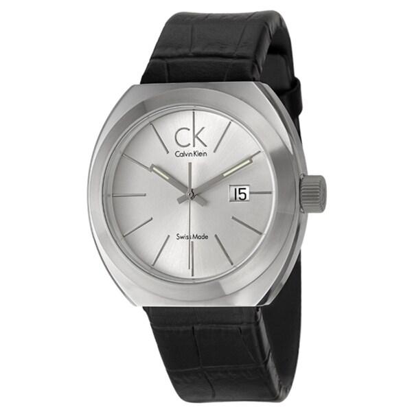 Calvin Klein Men's 'Nation' Stainless-Steel Black Watch