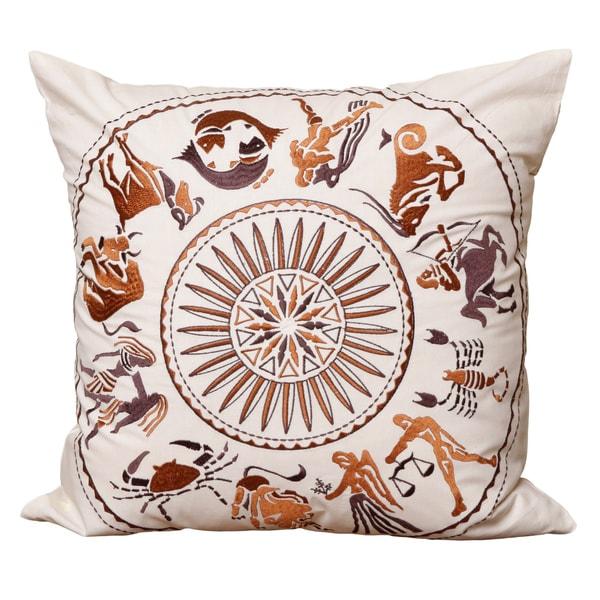 All Zodiac Signs Cushion Cover , Handmade in India
