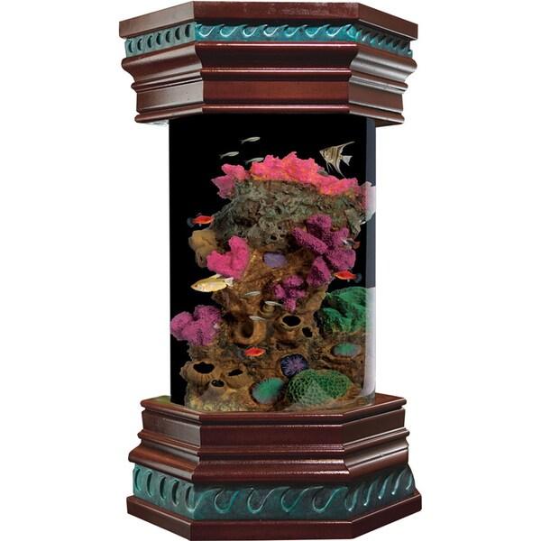KollerCraft Ocean Treasures Collection 6-Gallon Executive Aquarium Kit