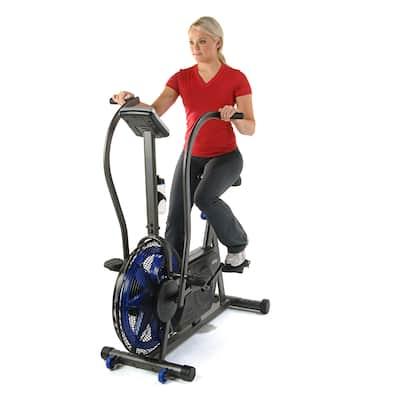 Stamina Airgometer Exercise Bike - Blue