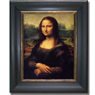 Leonardo da Vinci 'Mona Lisa' Framed Canvas Art