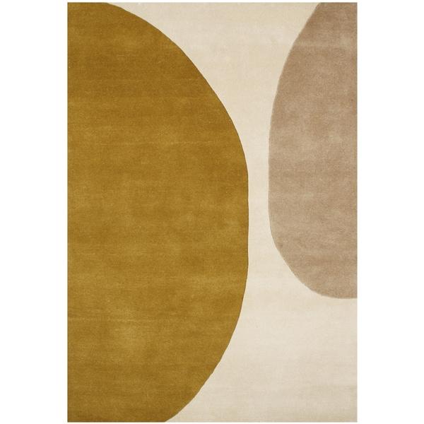 Alliyah Handmade Antique White New Zealand Blend Wool Rug - 8' x 10'